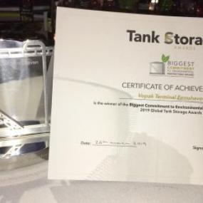 Tand storage award